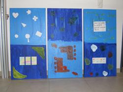 Gemeinschaftswerk von Dagmar Mies, Waltraut Buchner und Laura Hein