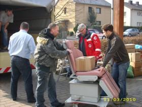 Hilfskonvoi für Bosnien