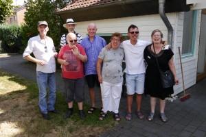 Lebenshilfe Ulrich van Bebber - Joachim Grundhewer und BewohnerInnen