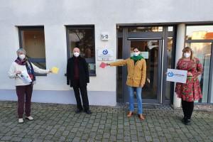 Spendenübergabe FDP_Kachelaktion Anbau LHH